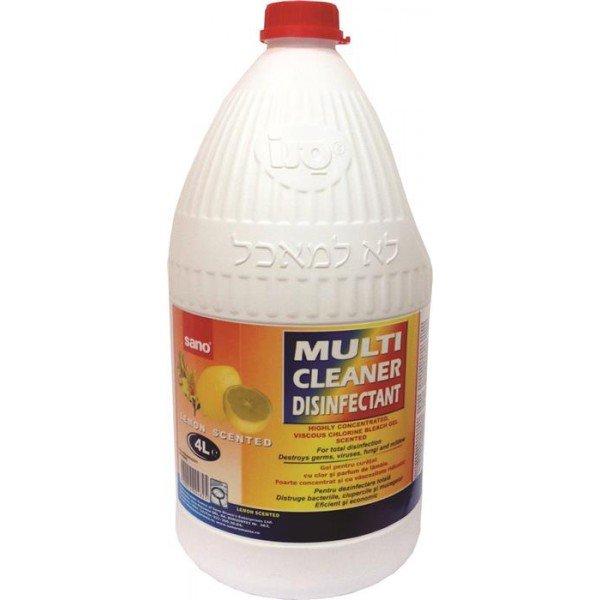 Detergent gel Sano Multicleaner 4 l