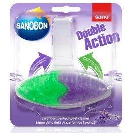 Sapun de toaleta Sanobon lavanda Double Action 55 g